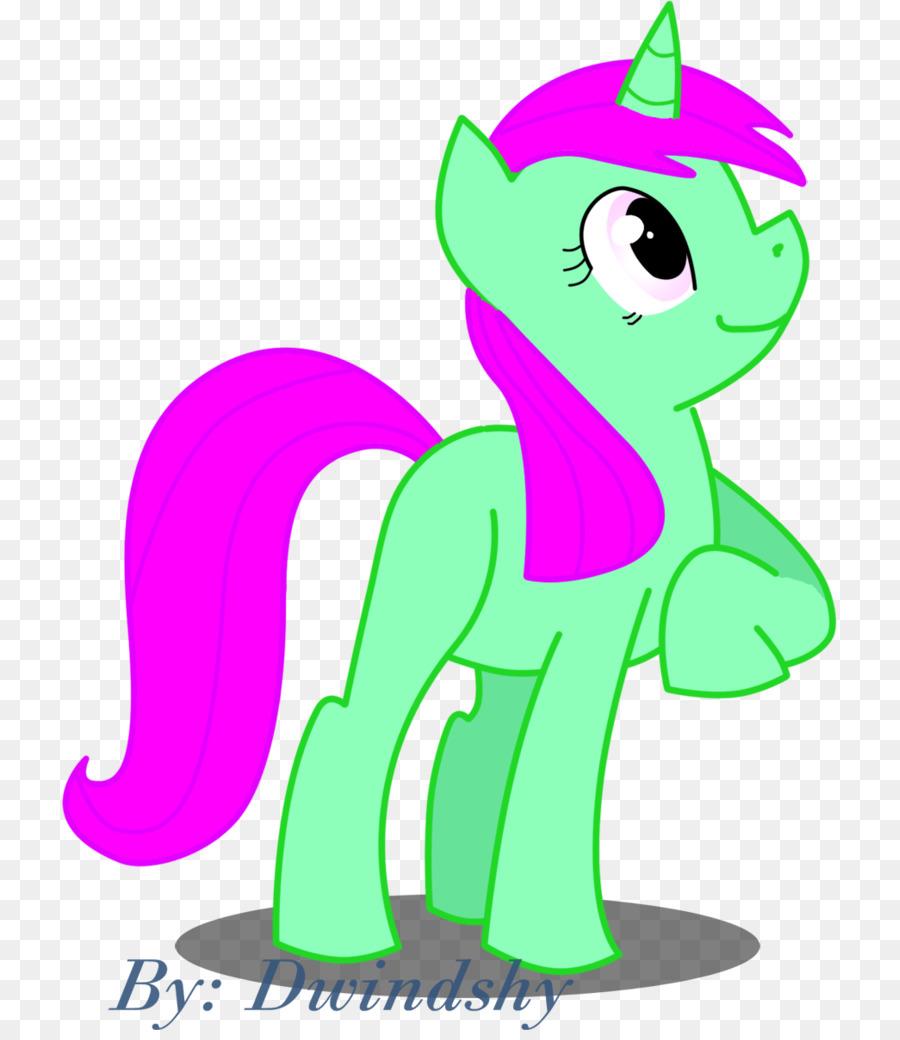 Pony Unicorn Karikatur Gambar Png
