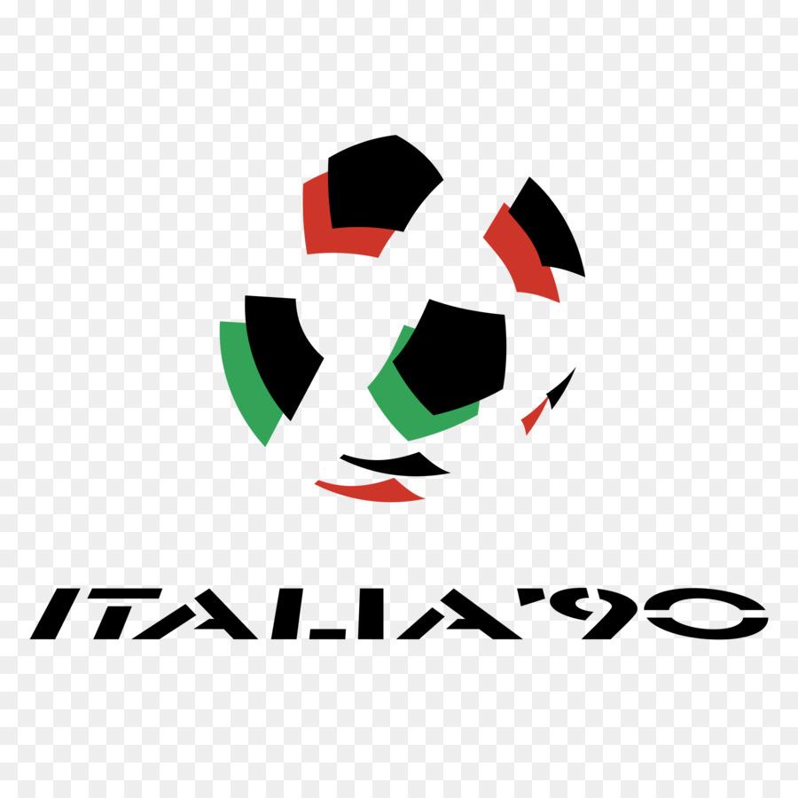 1990 FIFA Piala Dunia Logo Italia Gambar Png