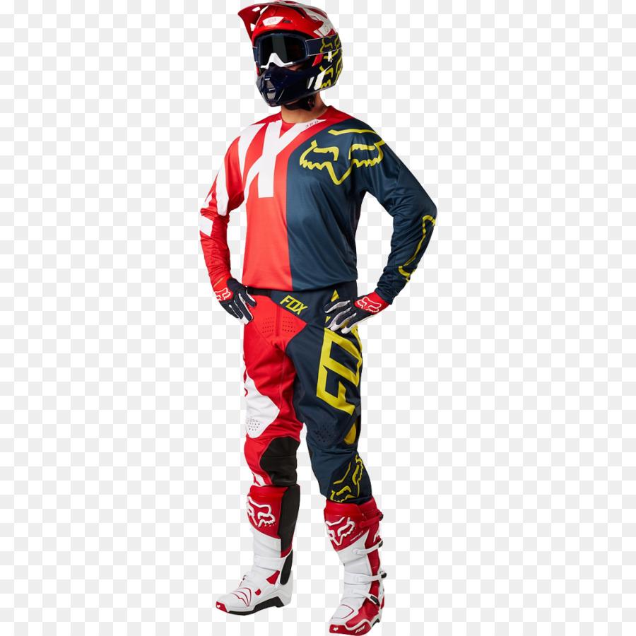 Fox Balap Fox 360 Preme Jersey Motocross Gambar Png