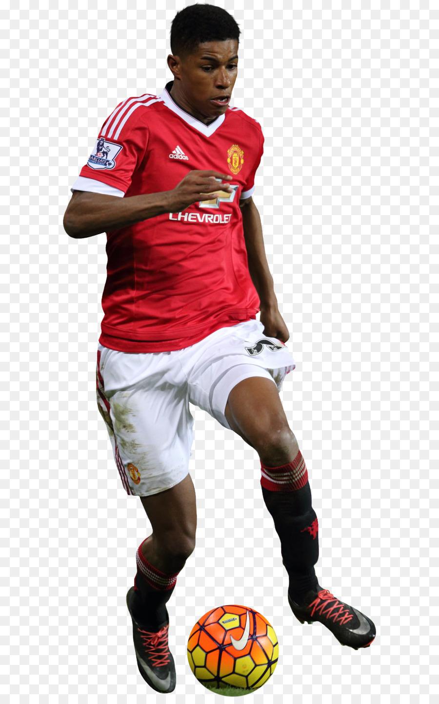 Marcus Rashford Manchester United Fc Pemain Sepak Bola