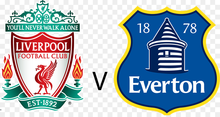 Liverpool Everton Fc Merseyside Derby Gambar Png