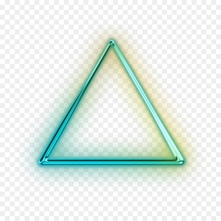 segitiga lampu neon neon gambar png segitiga lampu neon neon gambar png