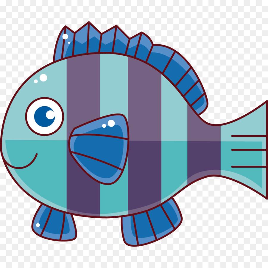 Kartun Gambar Ikan Kerapu Gambar Png