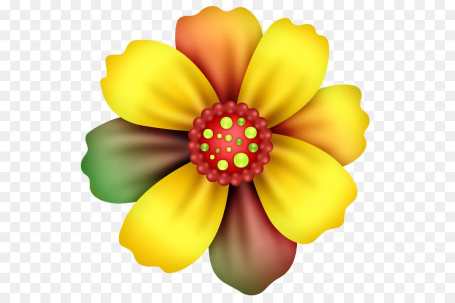 Bunga Gambar Warna Gambar Png