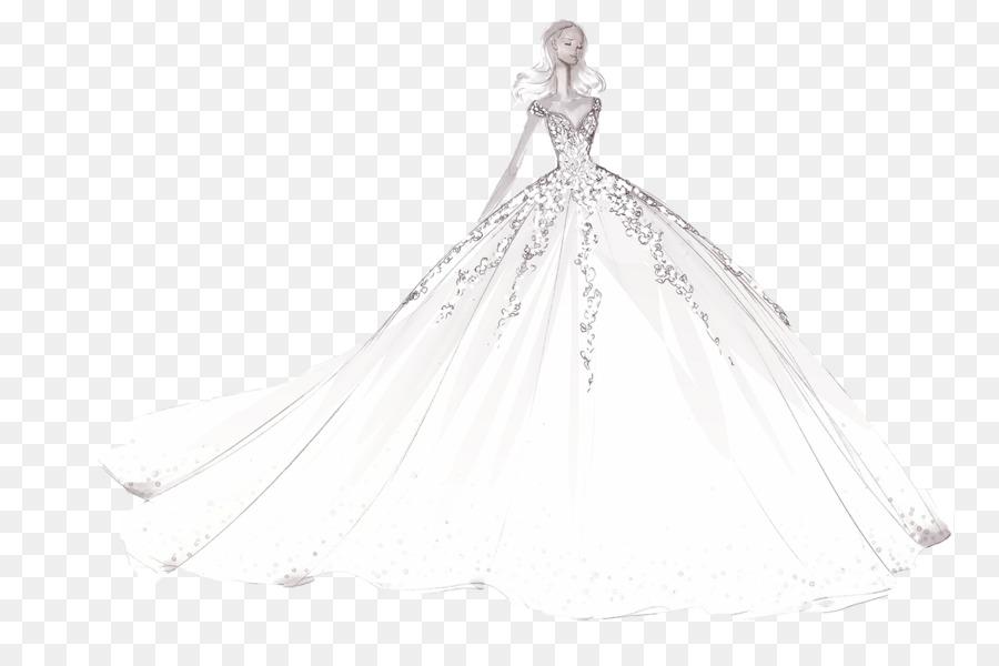 Gaun Pengantin Wiki Dress Hitam Putih M Gaun Gambar Png