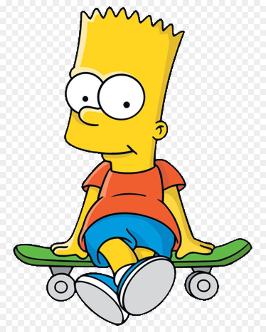 Bart simpson homer simpson lisa simpson gambar png