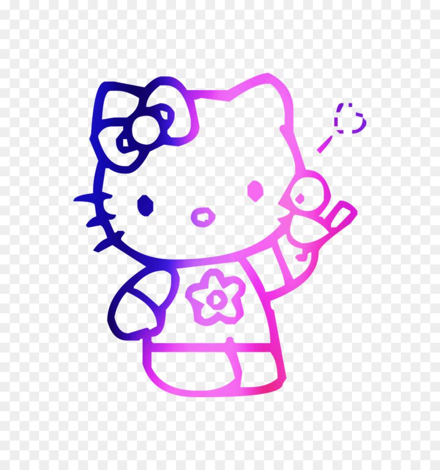 Buku Mewarnai Hello Kitty Paskah Gambar Png