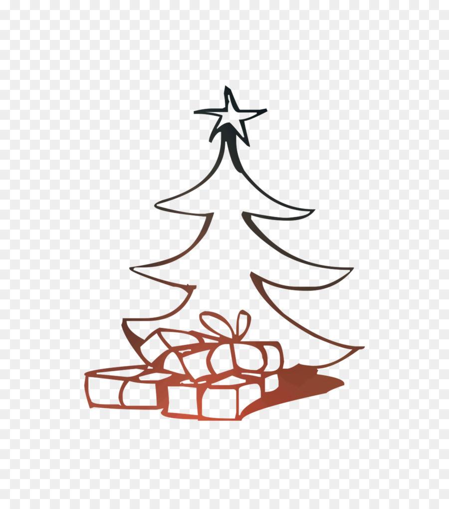 Pohon Natal Buku Mewarnai Gambar Gambar Png