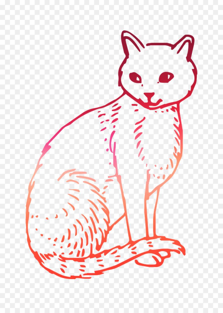 Kumis Kucing Buku Mewarnai Gambar Png