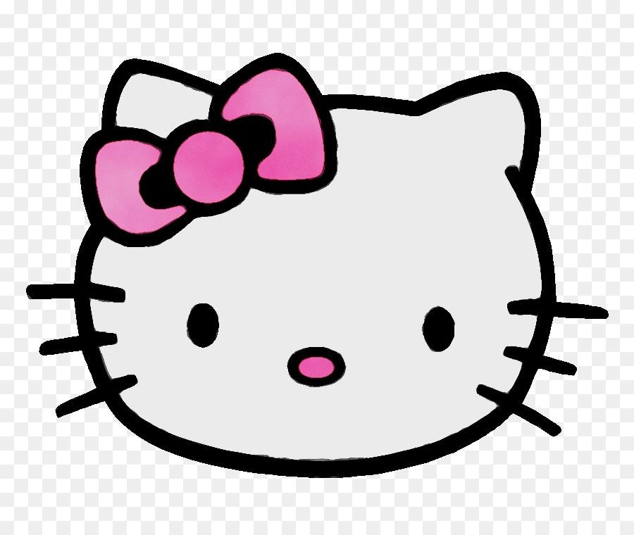 Hello Kitty Buku Mewarnai Gambar Gambar Png