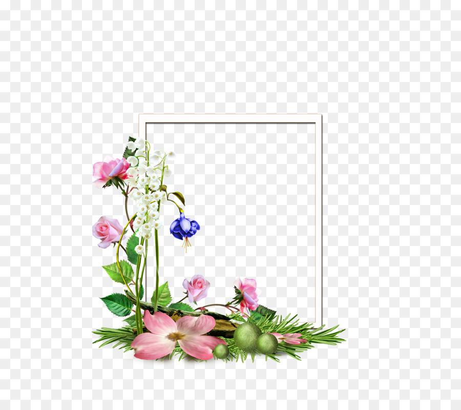 Desain Bunga, Bunga, Bingkai Foto gambar png