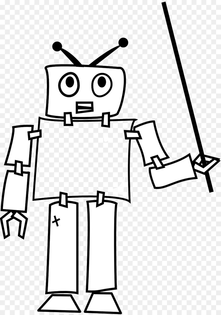 Gambar Kartun Robot Mewarnai Adzka