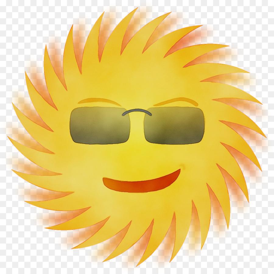Sinar Matahari Smiley Kartun Gambar Png
