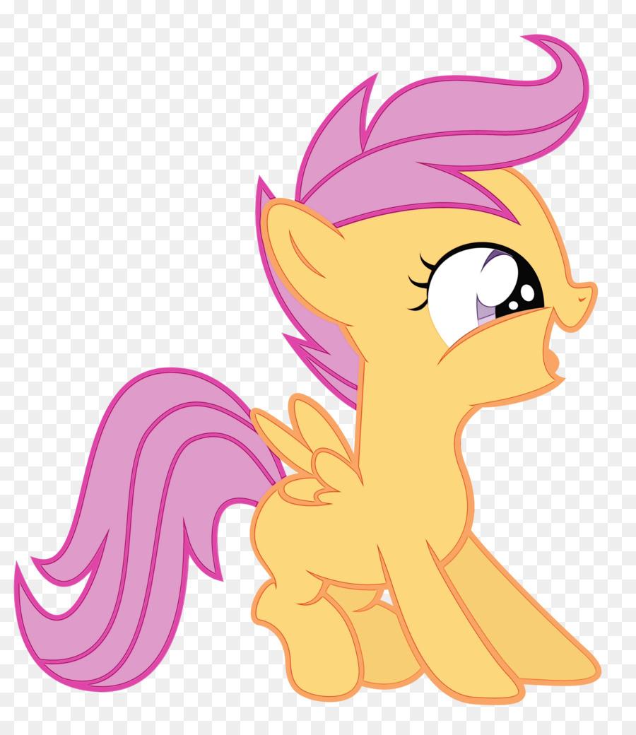 Kartun Pony Kuda Gambar Png