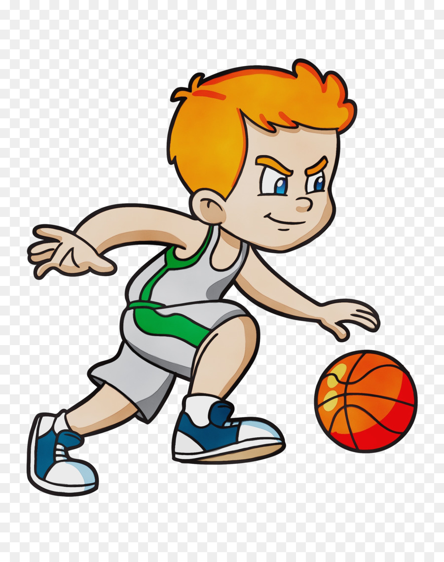 Gambar Kartun Pemain Bola Basket