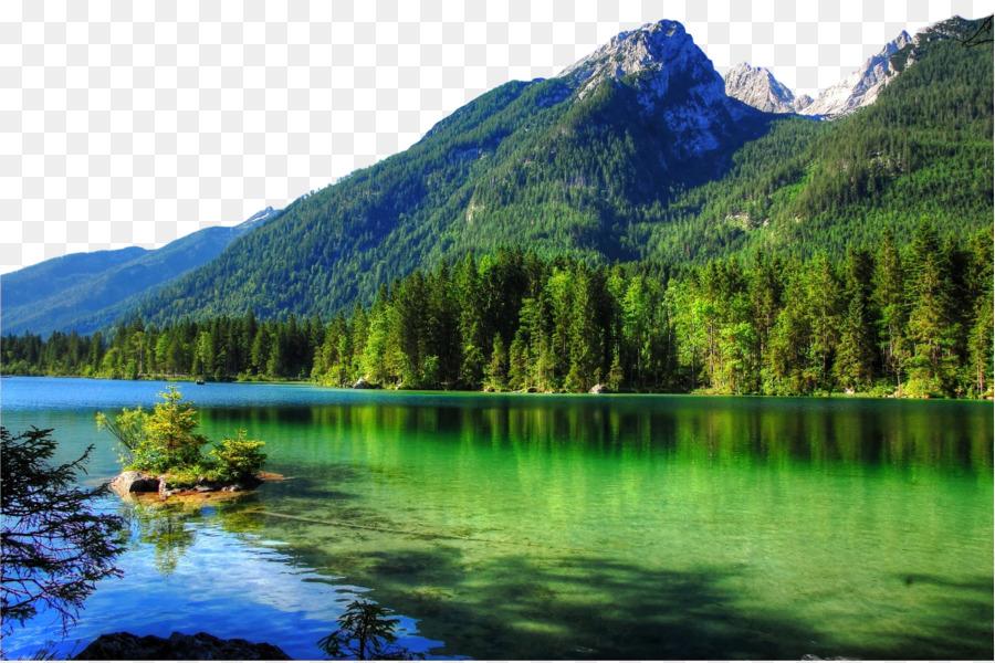 Pemandangan Alam, Alam, Tubuh Air Gambar Png