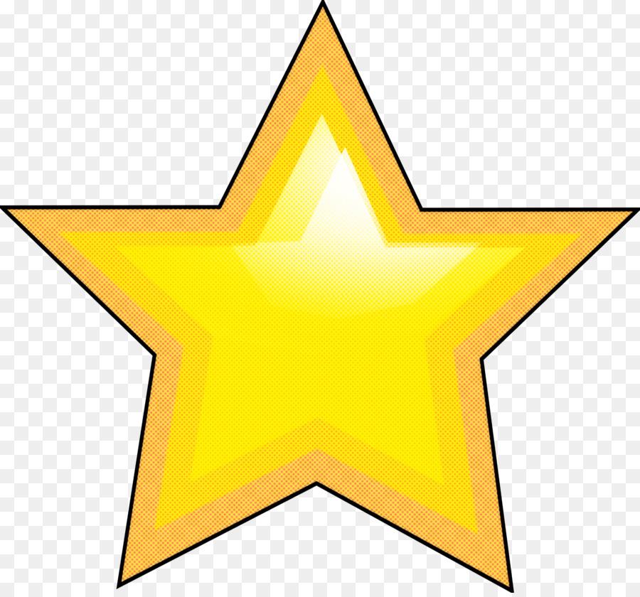 Kuning, Bintang, Simbol gambar png