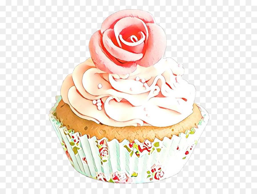 Cupcake Buttercream Icing Gambar Png