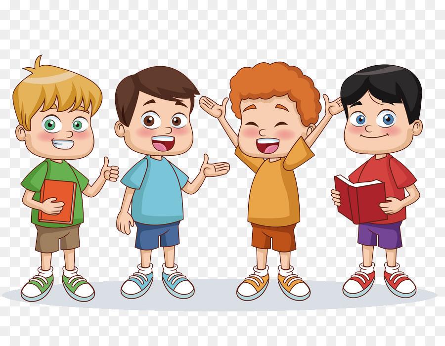 Kartun, Anak, Berbagi gambar png