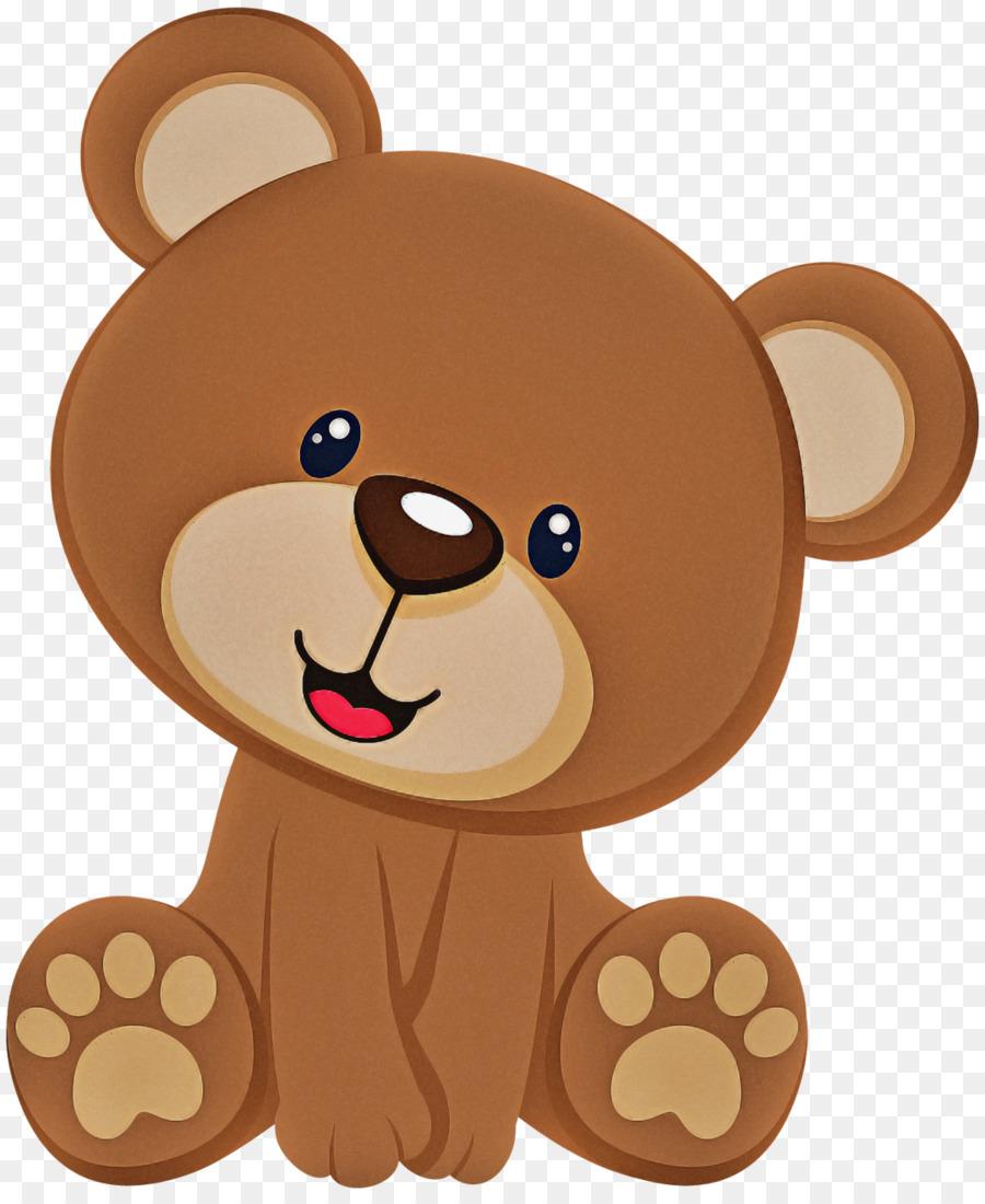 Kartun Boneka Beruang Beruang Coklat Gambar Png