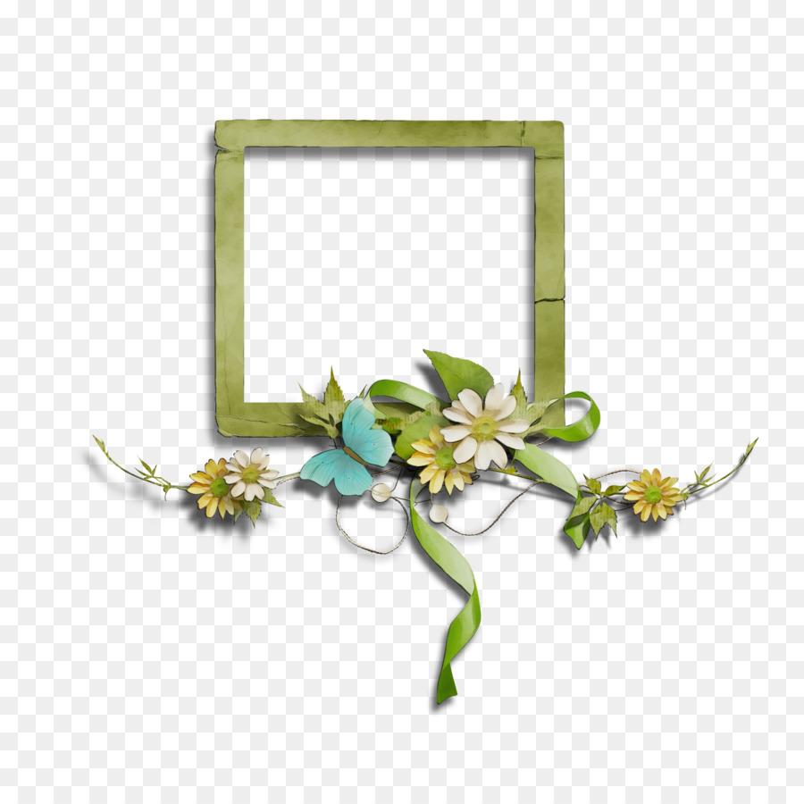 Desain Bunga, Bingkai Foto, Bunga gambar png